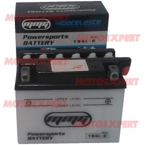 BATERÍA YB4L-B 118 X 70 X 94 CM 12 V 4 AMP MMG