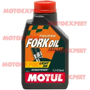 ACEITE DE HORQUILLA DE MOTO FORK OIL EXPERT 5 1/2 LITRO MOTUL