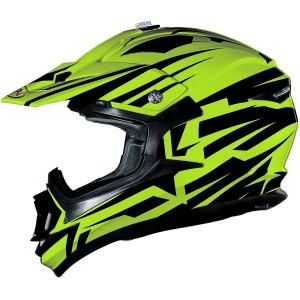 CASCO DE CROSS SHIRO MX734 BRAVO AMARILLO APROBADO
