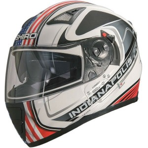CASCO INTEGRAL SHIRO SH3700 GP INDIANAPOLIS APROBADO