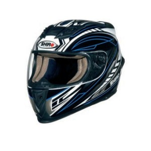 CASCO INTEGRAL SHIRO SH 821 MOTION AZUL APROBADO
