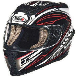 CASCO INTEGRAL SHIRO SH 821 MOTION ROJO APROBADO