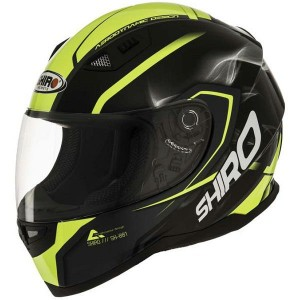 CASCO INTEGRAL SHIRO SH881 MOTEGI AMARILLO APROBADO